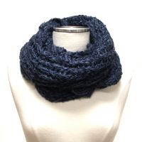 Soft Knit Infinity Scarf  Neck