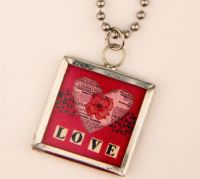 Love without Measure Charm Necklace J-2476