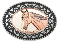 Copper Horse Buckle