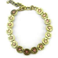 8mm LUGER Linked Bracelet With Extention Chain