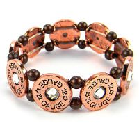 Cop 12 Gauge Bullet Stretch bracelet
