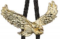 Gold Eagle Bolo Tie Made in the USA