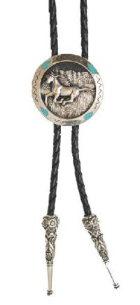 Galloping Horse Bolo Tie Made in the USA