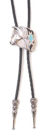 Horse Head Bolo Tie Made in the USA