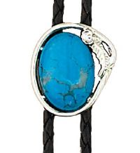 Turquoise Bolo Tie Made in the USA