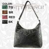 TR-CA-119 Montana West Cheyenne Autumn Collection Trinity Ranch Handbag-Black