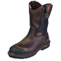 "CEBU FARMER 10"" BROWN NON-STEEL TOE"