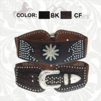 CIB-B1206 Montana West Cowgirl Collection Waist/Stretch Belt