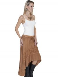 Honey Creek Hi/lo maxi skirt.