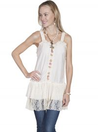 Honey Creek  crochet strap dress