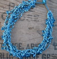 Blue Bead Necklace IJ-1001