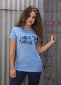 Gone Riding Tee  TL-1663