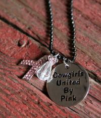 Cowgirls United by Pink Necklace J-2406 Black