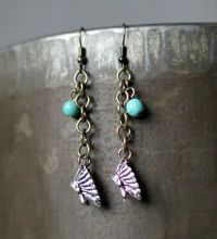 Head Dress Charm Earring by Anna Jo J-2688