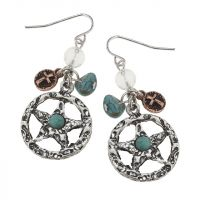 Sheriff Star Earrings J-3060
