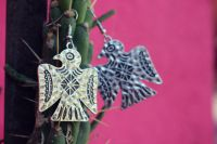 New Thunderbird Earring J-4008 Silver