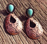 New Cambria Tear Drop Earring J4012 Copper