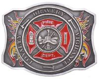 New Fire Dept Belt Buckle  Made in USA