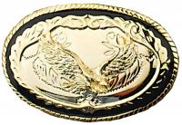 Gold Eagle Belt Buckle Made in USA