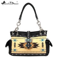 MW48-8085 Western Aztec Concho Collection Handbag