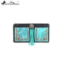 Montana West Concho Collection Secretary Style Wallet  MW587-W010