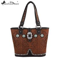 MW59-8317 Montana West Western Buckle Collection Handbag