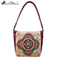 MW637-8251 Embroidered Collection Hobo Bag from Montana West