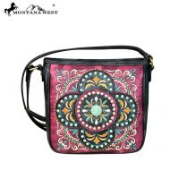 MW637-8360 Embroidered Collection Crossbody Bag by Montana West