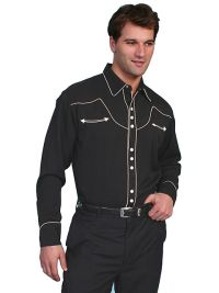 Legends Poly/rayon Blend Snap Front Shirt.P-620