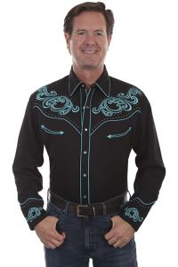 Legends Poly/rayon Blend Snap Front Shirt P-875