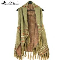 Montana West Tribal Fringe Vest