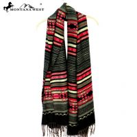 Montana West Tribal Fringe Scarf