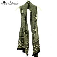 Montana West Tribal Pattern Scarf