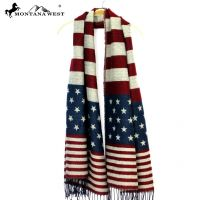 Montana West American Flag Scarf