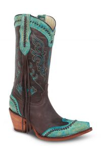 Redhawk 37100 Turquoise/Brown