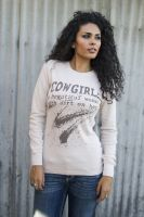 Cowgirl with Dirt on Her Thermal Made in USA T-1825