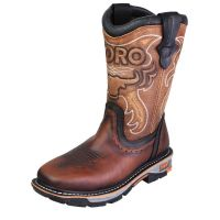 "CEBU TRC1 10"" BROWN STEEL -TOE"