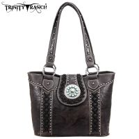TR05-8317 Montana West Trinity Ranch Buckle Collection Handbag