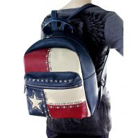 TX11-9210 Montana West Texas Pride Collection Backpack-Navy