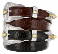 Colorado Men's Leather Western Belt by Diamond V Texas Star