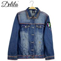 Delila Hand Embroidered Jacket Indian Chief Collection