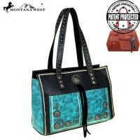 Montana West Concho Collection Concealed Handgun Satchel Bag MW525G-8394