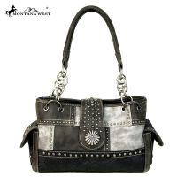 MW555-8085 Montana West Concho Collection Satchel