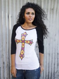 Taos Cross Tee  T-1685