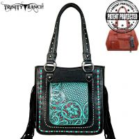 TR47G-8559 Trinity Ranch Tooled Collection Concealed Handgun Collection Tote