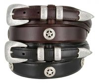 Waco Texas Western Ranger Belt by Diamond V Texas Star