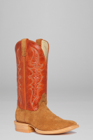 Maple Rough-out Crazy Horse Men's Western Boots Style 2645 (Hondo Sizes: 8.0, Hondo Widths: D - Width)