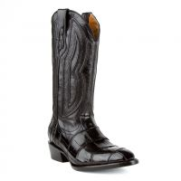 Stallion Handcrafted Alligator Belly Exotic Cowboy Boots | Ferrini Boots (Ferrini Sizes: 8D, Ferrini Colors: 27 Black)