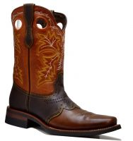 MEN'S 845-W PULL UP RODEO FRENCH TOE (Denver Colors: BWN/BWN/COG, Denver Sizes: 6.0 EE)
