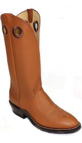 Hand Made Retan Cowboy Boots 7875 by Hondo Boots (Hondo Sizes: 7.0, Hondo Widths: D - Width)